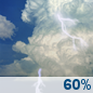 Today: Showers And Thunderstorms Likely then Chance Showers And Thunderstorms
